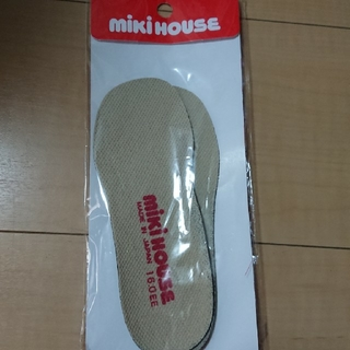 ミキハウス(mikihouse)のミキハウス☆中敷き☆靴 16.0㎝(その他)