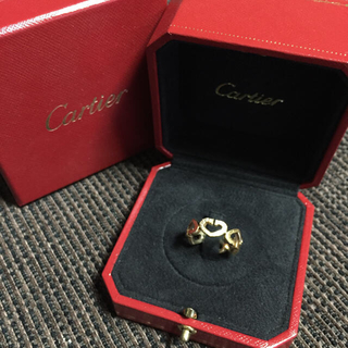 カルティエ(Cartier)のカルティエ Cハート ダイヤ リング(リング(指輪))