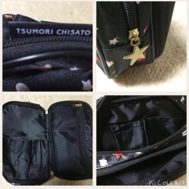 TSUMORI CHISATO(ツモリチサト)の3つ星ポーチツモリチサト レディースのファッション小物(ポーチ)の商品写真