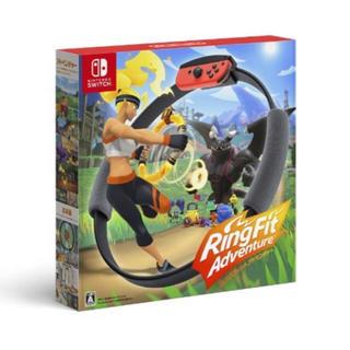 ニンテンドースイッチ(Nintendo Switch)のリングフィットアドベンチャー(家庭用ゲームソフト)