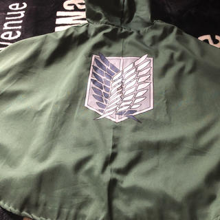 ユニバーサルスタジオジャパン(USJ)の進撃の巨人、調査兵団マント(衣装)