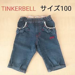 ティンカーベル(TINKERBELL)のサイズ100♡ハーフデニムパンツ TINKERBELL(パンツ/スパッツ)