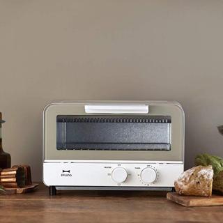 BALMUDA - BRUNO ブルーノ オーブントースター 2枚焼き (ウォームグレー)