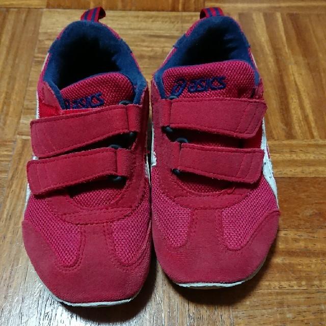 asics(アシックス)のsao様専用 アシックス アイダホ 17.5センチ 赤 キッズ/ベビー/マタニティのキッズ靴/シューズ(15cm~)(スニーカー)の商品写真