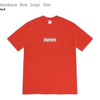 シュプリーム(Supreme)の本日限り値下げ!supreme bandana box logo tee S (Tシャツ/カットソー(半袖/袖なし))