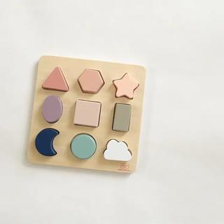 キャラメルベビー&チャイルド(Caramel baby&child )の木のおもちゃ 木のパズル パズル 海外おもちゃ 個人輸入 積木 ブロック(知育玩具)