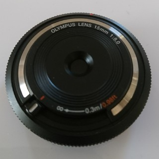 オリンパス(OLYMPUS)のOLYMPUS ボディーキャップレンズ BCL-1580 (レンズ(単焦点))