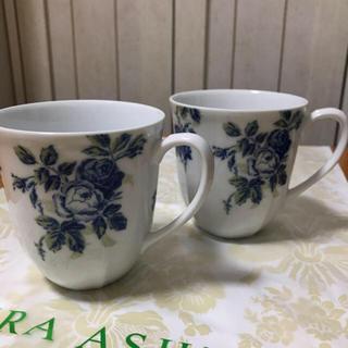 ローラアシュレイ(LAURA ASHLEY)のローラアシュレイ マグカップ 2客セット(グラス/カップ)
