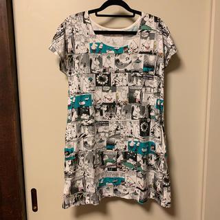 グラニフ(Design Tshirts Store graniph)のムーミンのワンピース(グラニフ)(チュニック)