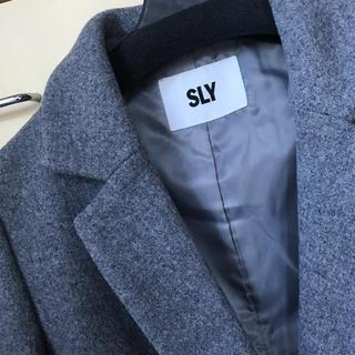 SLY - 美品●送料込●SLY チェスターコート ロングコート