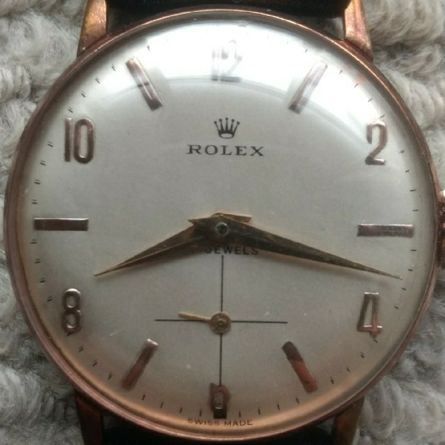 ロレックス 時計 コピー 品質3年保証 - ROLEX - ROLEX 1940年代ヴィンテージロレックス 手巻き 14KGP OH済 の通販