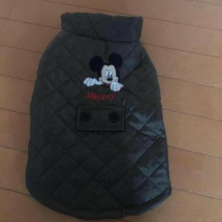 ディズニー(Disney)のお値下げ❗️新品☆mickeyのダウンジャケット犬用(ペット服/アクセサリー)
