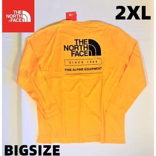 ザノースフェイス(THE NORTH FACE)のノースフェイス Tシャツ 長袖 大きいサイズ メンズ 2XL 新品 送料無料(Tシャツ/カットソー(七分/長袖))