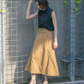STUDIOUS - STUDIOUS ステュディオス ウエストレースアップスカート