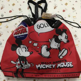 ミッキーマウス(ミッキーマウス)のミッキー  巾着ナップサック(リュックサック)