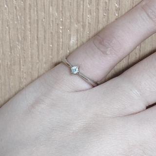 リング ダイヤ k10 ホワイトゴールド(リング(指輪))