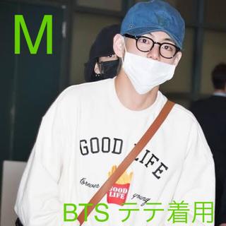 ボウダンショウネンダン(防弾少年団(BTS))のロマンティッククラウン 10th good life sweat shirt (スウェット)