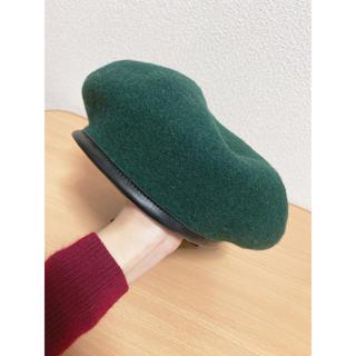WEGO - ベレー帽 緑