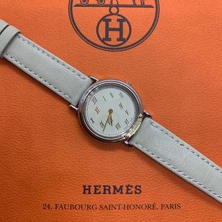 エルメス(Hermes)のアールグレイ様 専用  良品 HERMES エルメス メテオール クォーツ (腕時計(アナログ))