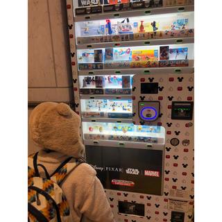 ディズニー(Disney)の舞浜駅 disney キャラクター 自販機 レア ムーラン キーホルダー(キャラクターグッズ)