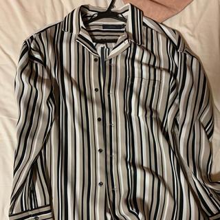 RAGEBLUE - RAGEBLUE オープンカラーシャツ ストライプシャツ