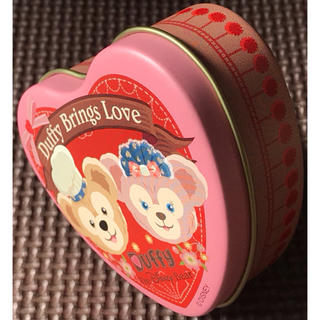 シェリーメイ(シェリーメイ)のスイートダッフィー Duffy バレンタインデー 缶ケース 小物入れ かんかん(小物入れ)