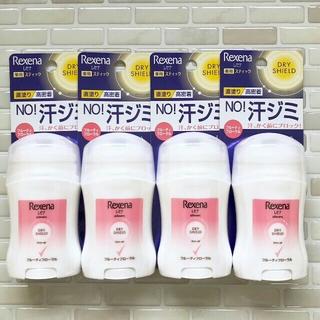 ユニリーバ(Unilever)の【フローラル/4個】レセナ ドライシールド 薬用スティック(制汗/デオドラント剤)