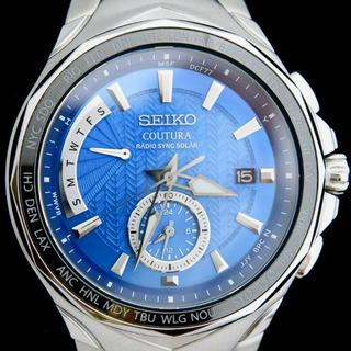 セイコー(SEIKO)の新品 海外限定 セイコー コーチュラ 超高精度 電波ソーラー腕時計 永久カレンダ(腕時計(アナログ))