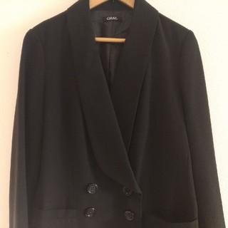 GRL - グレイル ショールカラージャケット GRL 黒 ブラック M  テーラード 美品