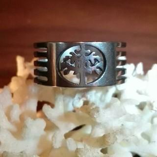 生命の樹モチーフの透かし彫りリング シルバーカラー(リング(指輪))