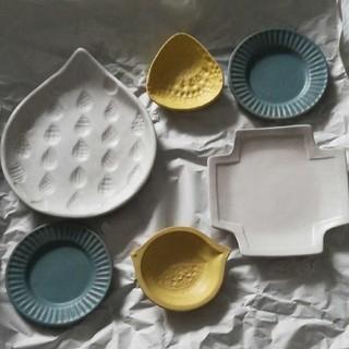 ミナペルホネン(mina perhonen)のよしざわ窯 春色 器セット(食器)