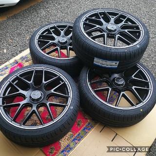 ベンチ(Bench)の新品 ベンツ タイヤ&ホイール4本セットセット Sクラス CL Eクラス W22(タイヤ・ホイールセット)
