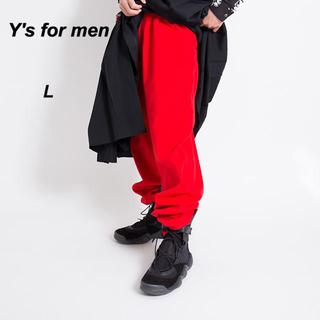 Yohji Yamamoto - 【激レア!】Y's for men ワイズフォーメン ワークパンツ 赤