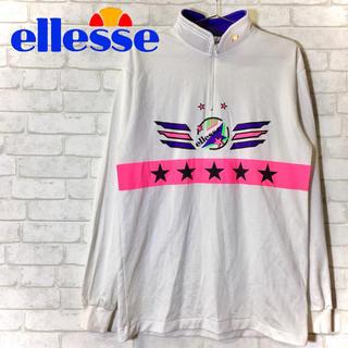 エレッセ(ellesse)の【ellesse】エレッセ ハーフジップスウェット レトロ/XLサイズ(スウェット)