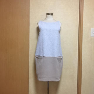 ダブルスタンダードクロージング(DOUBLE STANDARD CLOTHING)のDOUBLE STANDARD CLOTHING♡︎ジャージーワッフルワンピ(ひざ丈ワンピース)