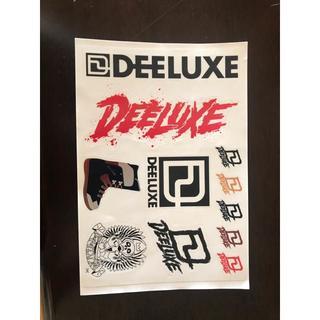 ディーラックス(DEELUXE)のDEELUXEのステッカー(アクセサリー)