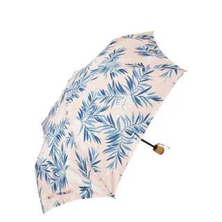フランフラン(Francfranc)のFrancfranc晴雨兼用レラン パーム ミニアンブレラ ピンク(傘)