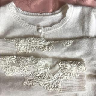 トッコ(tocco)の🎀完売品 新品 未使用 🎀Tocco 豪華刺繍 カーディガン(カーディガン)