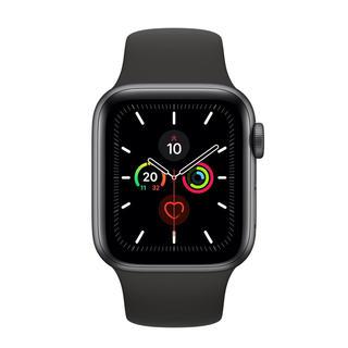 アップルウォッチ(Apple Watch)のApple Watch SERIES5 スペースグレー アルミニウムケース (スマートフォン本体)