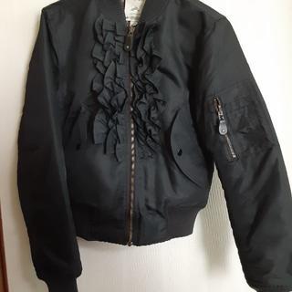 JEREMY SCOTT - アディダス ジェレミー フリル MA1 ジャケット w61552