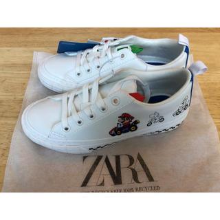 ZARA KIDS - ZARA マリオカート スニーカー 21.5cm