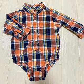 GAP - gap ベビー オレンジシャツ