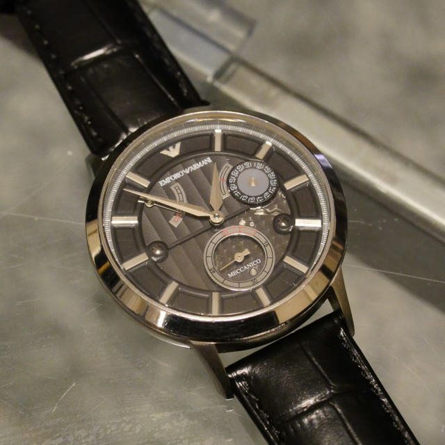 Emporio Armani(エンポリオアルマーニ)のアルマーニ 腕時計 ARMANI 機械式  メンズの時計(腕時計(アナログ))の商品写真
