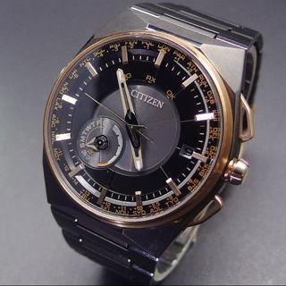 シチズン(CITIZEN)の美品 定価22万 シチズン アテッサ サテライトウェーブ F100 チタン(腕時計(デジタル))