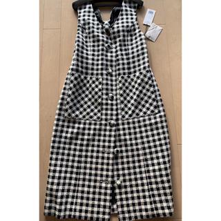 GRACE CONTINENTAL - グレースコンチネンタル ツイードジャンパースカート