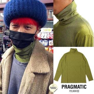 ピースマイナスワン(PEACEMINUSONE)のジヨン着用pragmatic(Tシャツ/カットソー(七分/長袖))