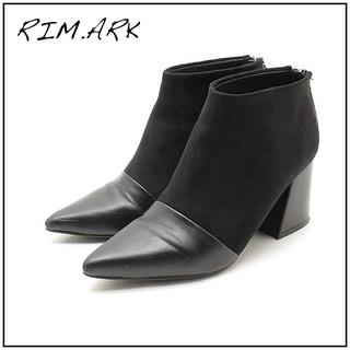 エンフォルド(ENFOLD)のRIM.ARK ショートブーツ 黒 S(ブーツ)