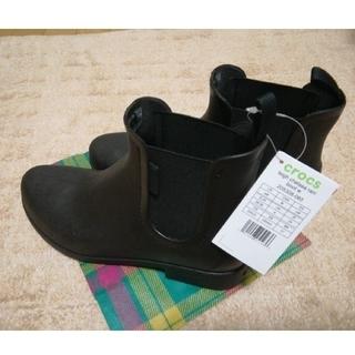 crocs - crocs 新品タグ付き レインブーツ size24
