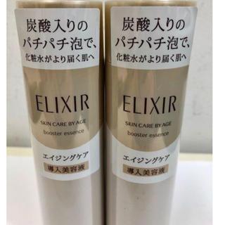 エリクシール(ELIXIR)のエリクシール  シュペリエル ブースターエッセンスエイジング導入美容液90g2本(ブースター/導入液)