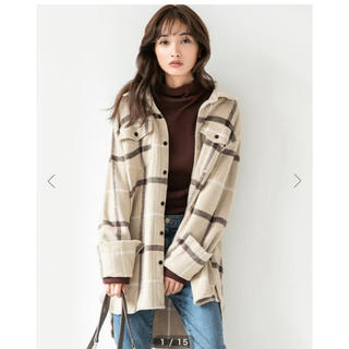 フィフス(fifth)の専用 フィフス♡チェックオーバーサイズ シャツジャケット(その他)